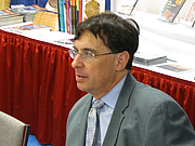 Forfatter foto. Steven G. Krantz at the Joint Mathematics Meetings in Washington, DC, January 2009 - Photo © AllenS