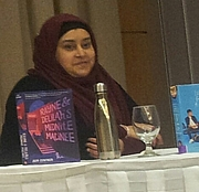 "Foto de l'autor. SK Ali photographed in Montréal , Québec, Canada at the Jewish Public Library as part of the 2019 Ya Fest. By Bull-Doser - Own work., Public Domain, <a href=""https://commons.wikimedia.org/w/index.php?curid=79228599"" rel=""nofollow"" target=""_top"">https://commons.wikimedia.org/w/index.php?curid=79228599</a>"
