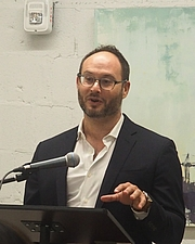 """Author photo. reading at Politics and Prose, Union Market, Washington, D.C. By slowking4 - Own work, GFDL 1.2, <a href=""""https://commons.wikimedia.org/w/index.php?curid=72723146"""" rel=""""nofollow"""" target=""""_top"""">https://commons.wikimedia.org/w/index.php?curid=72723146</a>"""