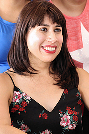 """Foto do autor. Author Erika L. Sánchez at the 2018 Texas Book Festival in Austin, Texas, United States. By Larry D. Moore - Own work, CC BY-SA 4.0, <a href=""""https://commons.wikimedia.org/w/index.php?curid=74052861"""" rel=""""nofollow"""" target=""""_top"""">https://commons.wikimedia.org/w/index.php?curid=74052861</a>"""
