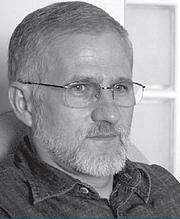 Kirjailijan kuva. Charles Kiefer (divulgação)