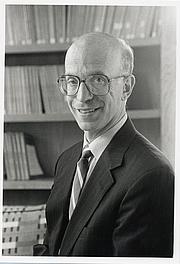 Author photo. Prof. Alan Stuart Blinder. Photo by Robert P. Matthews, 1996 (photo courtesy of Princenton University)