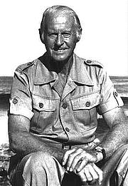 Autoren-Bild. L'explorateur norvégien Thor Heyerdahl vers 1980