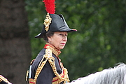 Autoren-Bild. HRH Princess Anne, Trooping the Colour, June 2013 [credit: Wikimedia Commons user Carfax2]