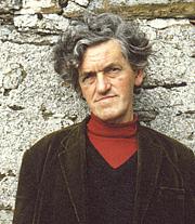 """Kirjailijan kuva. George Mackay Brown, author of """"Beside the Ocean of Time"""""""