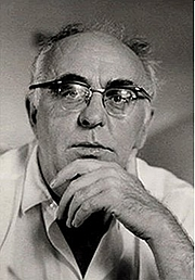 Forfatter foto. Portrait of Charles Olson, by Elsa Dorfman