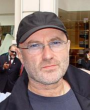 Fotografia de autor. Phil Collins [credit: Wikimedia Commons user dicknroll]
