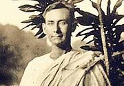 "Foto do autor. Joan Mascaró Fornés. Photo from <a href=""http://elveldharmonia.blogspot.com.au/2011/12/les-llanties-de-foc-de-joan-mascaro.html"" rel=""nofollow"" target=""_top""><i>The Veil of Harmony</i></a> blog."