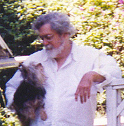 Author photo. Dougas and Audrey. Photo by Theresa Nicholas.