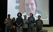 """Author photo. José Luis Mejía (Skype), Benjamín Edwards, Patricia Barreto, Zejo Cortez, Omar Camino, Cristian Vergara By Ficotraspoting - Own work, CC BY-SA 3.0, <a href=""""https://commons.wikimedia.org/w/index.php?curid=31179495"""" rel=""""nofollow"""" target=""""_top"""">https://commons.wikimedia.org/w/index.php?curid=31179495</a>"""