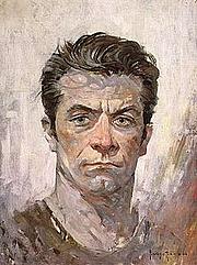 """Foto de l'autor. """"Self portrait,"""" <a href=""""http://en.wikipedia.org/wiki/Frank_Frazetta"""" rel=""""nofollow"""" target=""""_top"""">http://en.wikipedia.org/wiki/Frank_Frazetta</a>."""