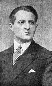 Foto do autor. Julian Tuwim (1894–1953)
