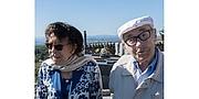 Författarporträtt. Gilbert Lazard, avec son épouse Madeleine, le 21 août 2017 à Mont-Saint-Vincent (Saône-et-Loire)
