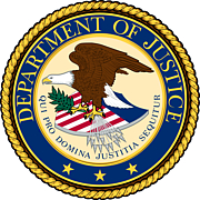 Autoren-Bild. Seal of the United States Department of Justice