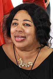 """Foto de l'autor. Author Harriet A. Washington at the 2015 Texas Book Festival. By Larry D. Moore, CC BY-SA 4.0, <a href=""""https://commons.wikimedia.org/w/index.php?curid=44667119"""" rel=""""nofollow"""" target=""""_top"""">https://commons.wikimedia.org/w/index.php?curid=44667119</a>"""