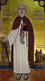 Fotografia de autor. Didymus the Blind / Wikipedia