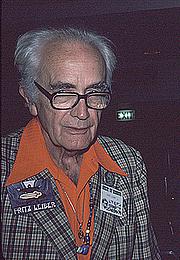 Foto do autor. Photo by Lars-Olov Strandberg, <br>Seacon '79 (37th World Science Fiction Convention), <br>Brighton, England, 1979. <br>Copyright © Lars-Olov Strandberg
