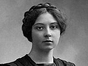 Fotografia de autor. Sigrid Undset - photo: Eivind Enger, Kristiania, 1905