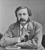 Kirjailijan kuva. Photograph by Napoleon Sarony (1872)