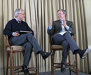 """Author photo. Interview of Eric Schmidt by Gary Hamel at the MLab dinner tonight. Google's Marissa Mayer and Hal Varian also joined the open dialog about Google's culture and management style, from chaos to arrogance. The video just went up on YouTube. It's quite entertaining. By Steve Jurvetson from Menlo Park, USA - Party Line Dance, CC BY 2.0, <a href=""""//commons.wikimedia.org/w/index.php?curid=7852247"""" rel=""""nofollow"""" target=""""_top"""">https://commons.wikimedia.org/w/index.php?curid=7852247</a>"""