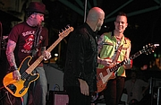 Fotografia de autor. The Fabulous Thunderbirds performing at the Riverwalk Blues Festival in Fort Lauderdale, FL. Carl Lender