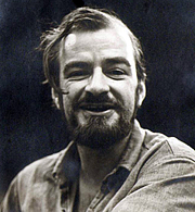 Foto do autor. Christopher Stasheff in the doctoral program at the University of Nebraska circa 1969.