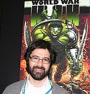 Kirjailijan kuva. Credit: Pinguino k (Flickr user), <br>New York Comic Con, 2007