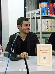 """Author photo. Jean-Baptiste Del Amo, Barcelona 2011 By Editorial Cabaret Voltaire - Own work, CC BY-SA 3.0, <a href=""""//commons.wikimedia.org/w/index.php?curid=25706856"""" rel=""""nofollow"""" target=""""_top"""">https://commons.wikimedia.org/w/index.php?curid=25706856</a>"""