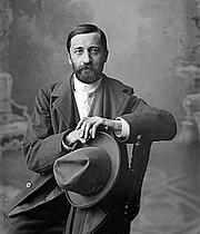 Foto do autor. Dimitri Sergeyevich Merezhkovsky (1866-1941)