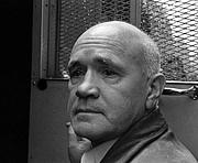 Foto do autor. Jean Genet in Paris, France in May, 1968