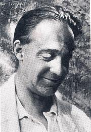 Forfatter foto. Indianist Heinrich Zimmer (1890 - 1943) in 1933