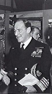 Fotografia de autor. Portrait of Admiral Sir Edward Evans KCB, DSO (later 1st Baron Mountevans), a senior British Royal Navy officer.