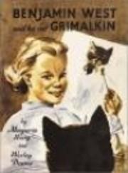 Benjamin West and his cat Grimalkin af…