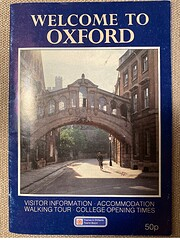 Welcome to Oxford: Visitor Information,…