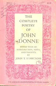 The Complete Poetry of John Donne de John T.…