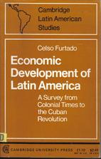 Economic development of Latin America; a…