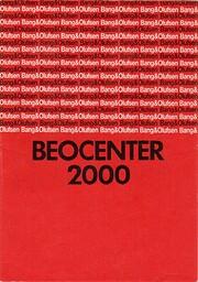 Beocenter 2000 door Staff at Bang & Olufsen