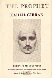 The Prophet (A Borzoi Book) por Kahlil…