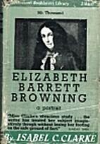 Elizabeth Barrett Browning a portrait by…