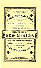 The resources of New Mexico by New Mexico