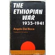 Ethiopian War, 1935-41 de Angelo Del Boca