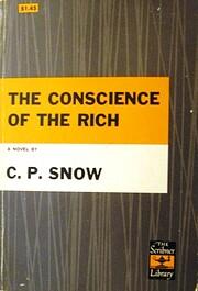 The Conscience of the Rich de C. P. Snow