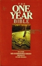 The One Year Bible NIV by Tyndale