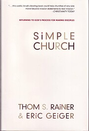 Simple Church: Returning to God's Process…