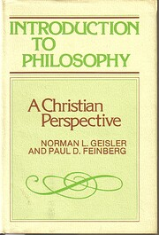 Introduction to Philosophy: A Christian…