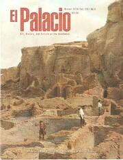 El Palacio - Vol. 125, No. 4, Winter 2020…
