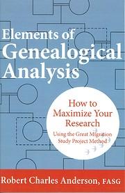 Elements of Genealogical Analysis av Robert…