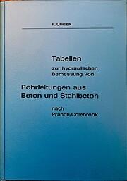 Tabellen zur hydraulischen Bemessung von…