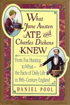 What Jane Austen Ate and Charles Dickens…