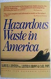 Hazardous Waste in America de Samuel S.…